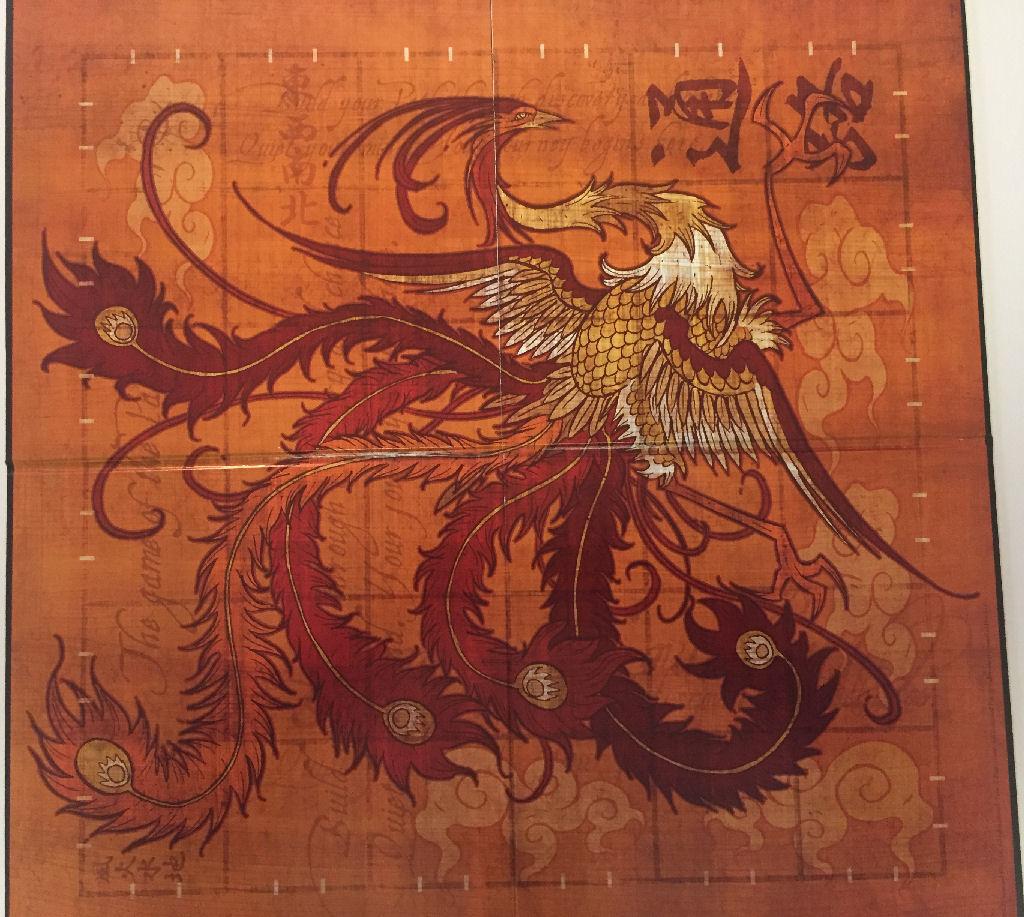 Tsuro Game Board
