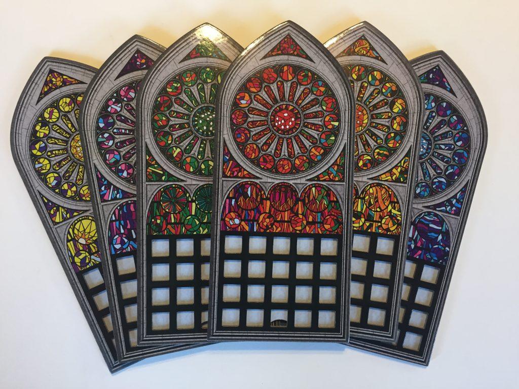 Sagrada Player Boards
